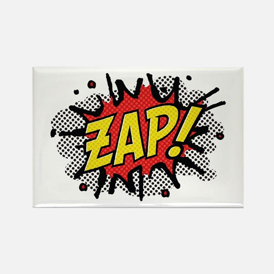 Zap! Rectangle Magnet (100 pack)