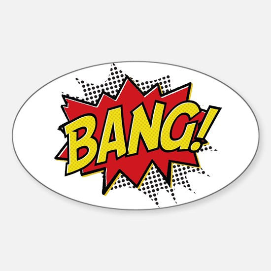 Bang! Sticker (Oval)