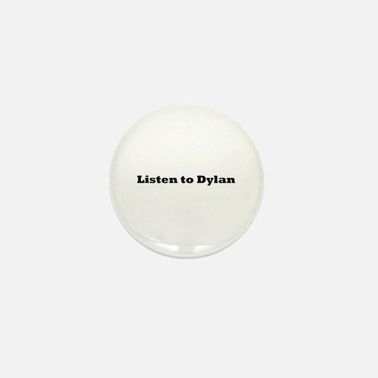 Cute Dylan Mini Button