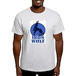 iron wolf Ash Grey T-Shirt