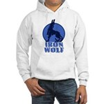 iron wolf Hooded Sweatshirt