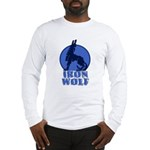 iron wolf Long Sleeve T-Shirt