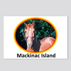 Island Horses Postcards (Package of 8)