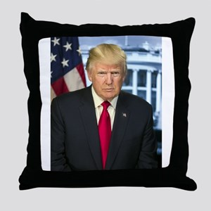 Official Presidential Portrait Throw Pillow
