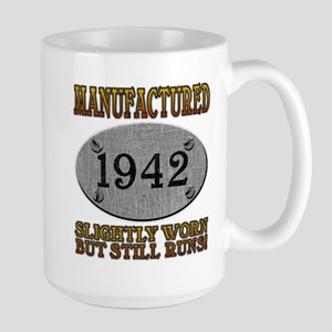 Manufactured 1942 Large Mug