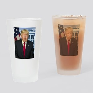 Official Presidential Portrait Drinking Glass