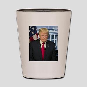 Official Presidential Portrait Shot Glass