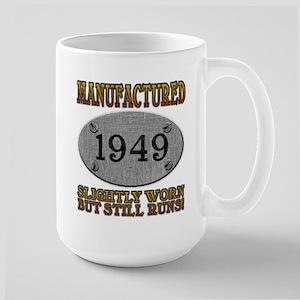 Manufactured 1949 Large Mug