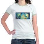 Mayahuel Mural Jr. Ringer T-Shirt