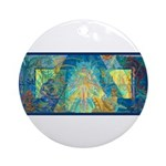 Mayahuel Mural Ornament (Round)
