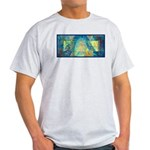 Mayahuel Mural Ash Grey T-Shirt
