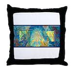 Mayahuel Mural Throw Pillow