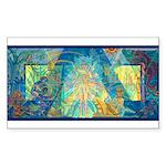Mayahuel Mural Rectangle Sticker