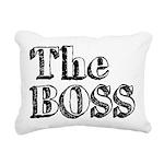 The Real Boss (1) Rectangular Canvas Pillow