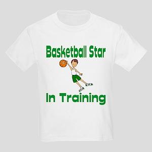 Basketball Star in Training Christopher Kids T-Shi