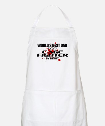 World's Best Dad - Cage Fighter Apron
