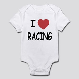 I love racing Infant Bodysuit