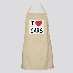 I love cars Apron