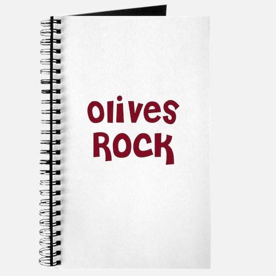 Olives Rock Journal