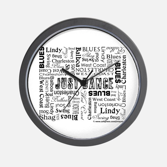 Just Dance Wall Clock