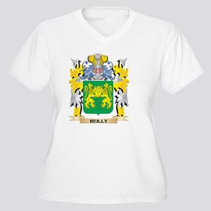 Reilly Family Crest - Coat of Ar Plus Size T-Shirt