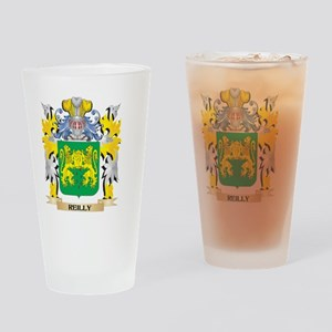 Reilly Family Crest - Coat of Arms Drinking Glass