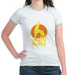iron wolf Jr. Ringer T-Shirt