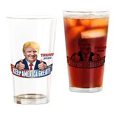 Trump - Keep America Great! Drinking Glass