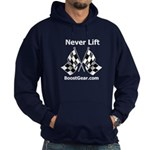 Never Lift - Hoodie (dark) by BoostGear.com