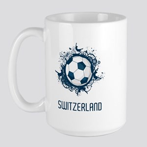 Switzerland Football Large Mug