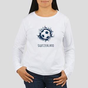 Switzerland Football Women's Long Sleeve T-Shirt