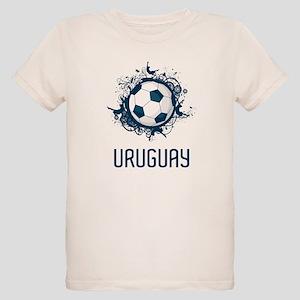 Uruguay Football Organic Kids T-Shirt