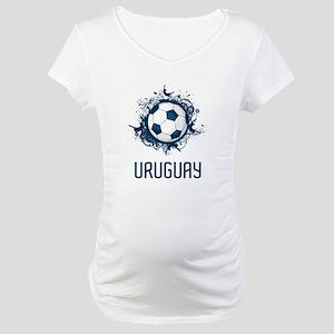 Uruguay Football Maternity T-Shirt