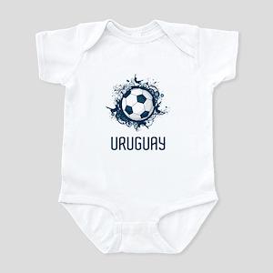 Uruguay Football Infant Bodysuit