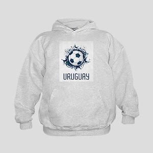 Uruguay Football Kids Hoodie