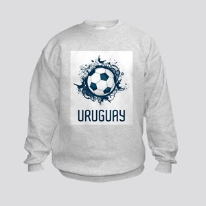 Uruguay Football Kids Sweatshirt