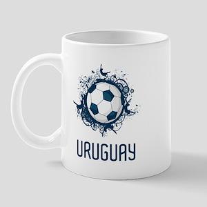 Uruguay Football Mug