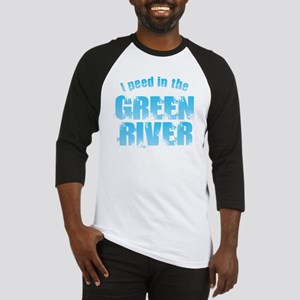 I Peed in the Green River Baseball Jersey