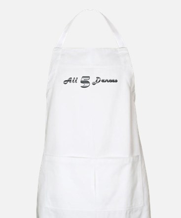 All 5 Dances Apron