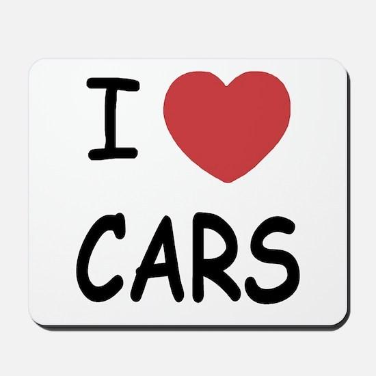 love cars Mousepad