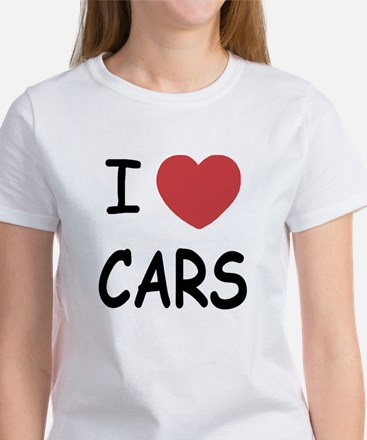 love cars Women's T-Shirt