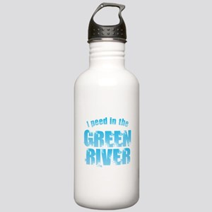 I Peed in the Green Ri Stainless Water Bottle 1.0L