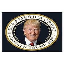 Presidential Trump Large Poster