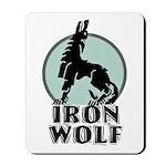iron wolf Mousepad