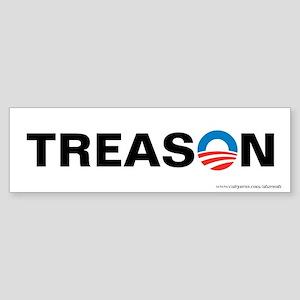 Obama - Treason, Sticker (Bumper)