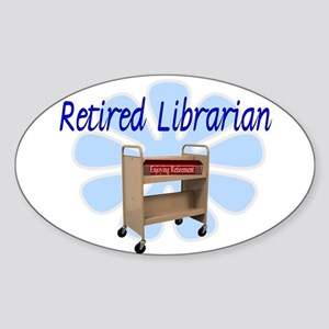 Retired Occupations Sticker (Oval)