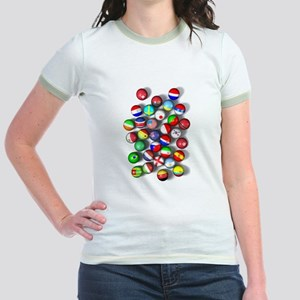 National Team Balls Jr. Ringer T-Shirt