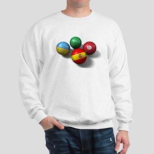 Four National Team Balls Sweatshirt