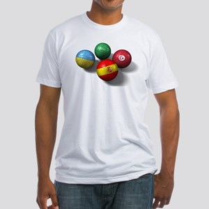 Four National Team Balls Fitted T-Shirt