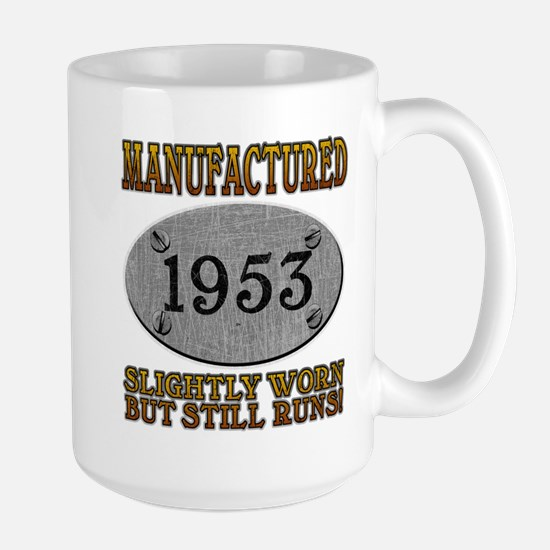 Manufactured 1953 Large Mug